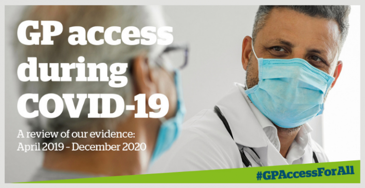 graphic illustrating new GP access report