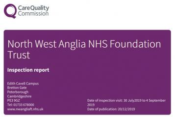 CQC hospital report rating