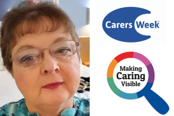 Carers Week graphic montage