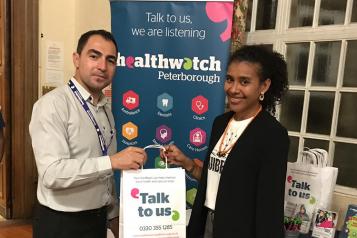 Healthwatch event Peterborough
