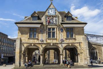 Picture shows Peterborough City Centre