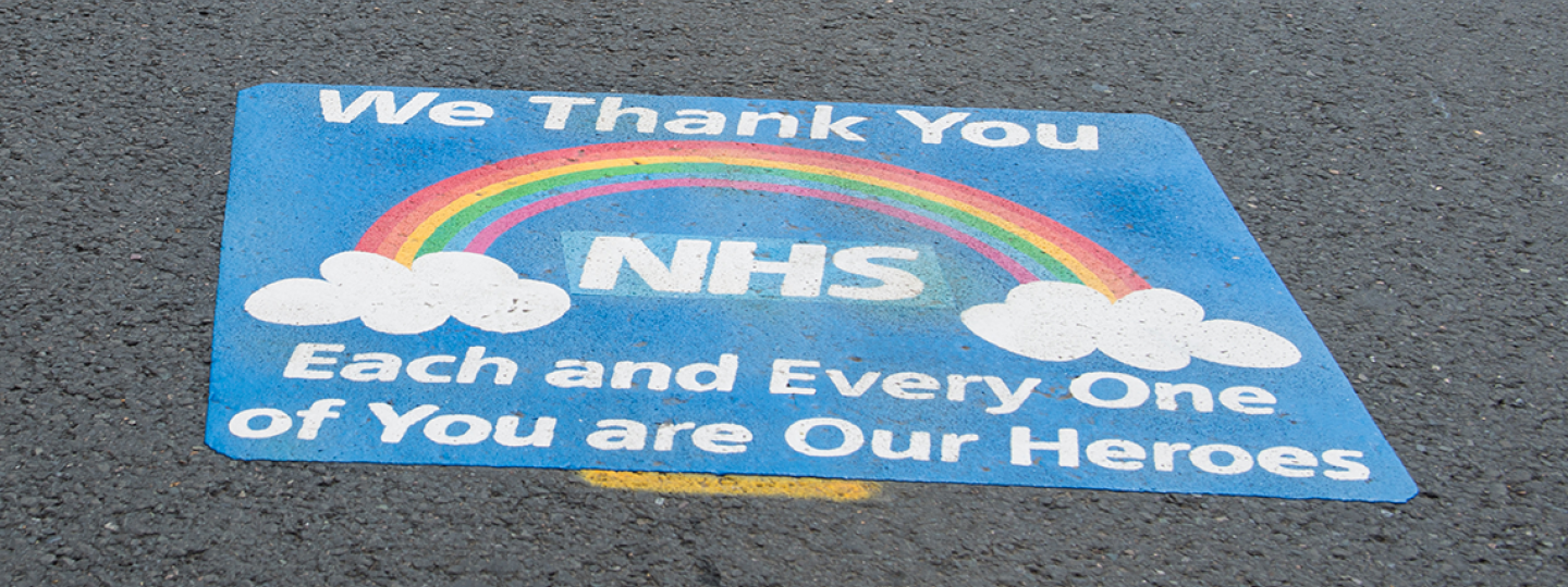 Thank you NHS and Social Care organisations