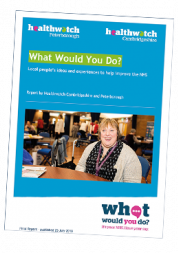 cover of what would you do report