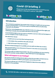 healthwatch peterborough covid-19 briefing 2